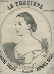 La Traviata - Piano. - Couverture - Format classique
