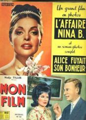Mon Film N° 730 - L'Affaire Nina B. - Couverture - Format classique
