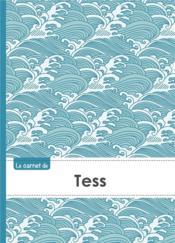 Carnet Tess Lignes,96p,A5 Vaguejaponaise - Couverture - Format classique