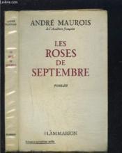 Les Roses De Septembre- Envoi De L Auteur - Couverture - Format classique