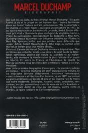 Marcel duchamp - Couverture - Format classique