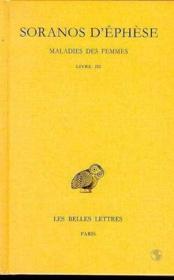 Maladies des femmes t.3 ; livre 3 - Couverture - Format classique