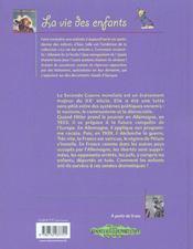 Seconde Guerre Mondiale (La) - 4ème de couverture - Format classique