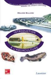Introduction a l'aquaculture - Couverture - Format classique