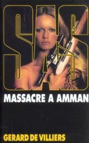 SAS t.23 ; massacre à Amman - Couverture - Format classique