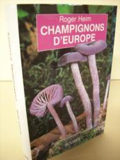 Champignons d'europe - Couverture - Format classique