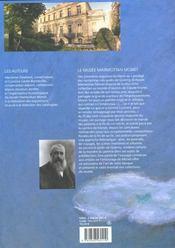 Monet Le Prodige Des Nympheas - Francais - 4ème de couverture - Format classique