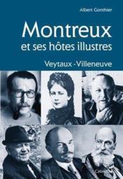 Montreux Et Ses Hotes Illustres - Couverture - Format classique
