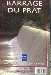 L'eau en auvergne - cascades lacs rivieres balades et rando a pied - 4ème de couverture - Format classique