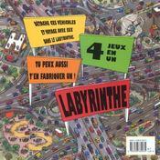Labyrinthe - 4ème de couverture - Format classique