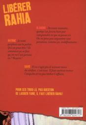 Libérer Rahia - 4ème de couverture - Format classique