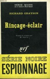 Rincage Eclair. Collection : Serie Noire N° 1300 - Couverture - Format classique