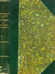 Souvenirs D'Un Homme De Lettres - Couverture - Format classique