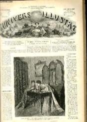 L'UNIVERS ILLUSTRE - DOUXIEME ANNEE N° 748 Salon de 1869 - Couverture - Format classique