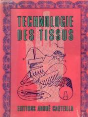 Aide Memoire - Technologie Des Tissus - Couverture - Format classique