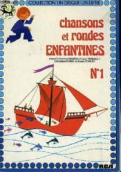 Chansons Et Rondes Enfantines N° 1 - Couverture - Format classique
