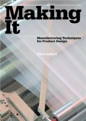 Making It /Anglais - Couverture - Format classique