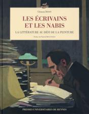 Les écrivains et les Nabis ; la littérature au défi de la peinture - Couverture - Format classique