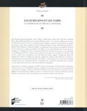 Les écrivains et les Nabis ; la littérature au défi de la peinture - 4ème de couverture - Format classique