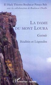 La dame du mont Loura ; Guinée ; réalités et légendes - Intérieur - Format classique