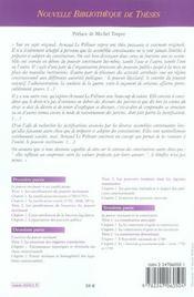 Pouvoirs non-constituants des assemblees constituantes. essai sur le pouvoir instituant. vol 47 - 4ème de couverture - Format classique