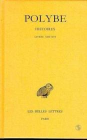 Histoires t.10 ; livre 13-14 - Couverture - Format classique