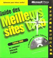 Guide Des Meilleurs Sites Web Edition 2000 - Intérieur - Format classique