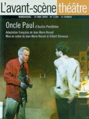 Oncle paul - Couverture - Format classique