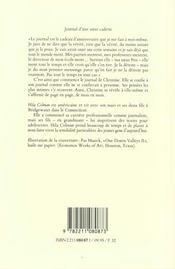 Journal D Une Soeur Cadette - 4ème de couverture - Format classique