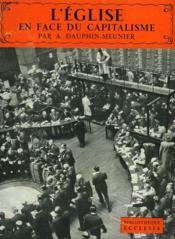 L'Eglise En Face Du Capitalisme. Bibliotheque Ecclesia N°12. - Couverture - Format classique