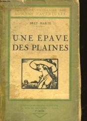 Une Epave Des Plaines - Couverture - Format classique