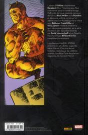 Daredevil par Franck Miller T.2 - 4ème de couverture - Format classique