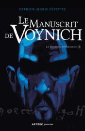 Le manuscrit de Voynich - Couverture - Format classique