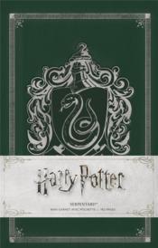Harry Potter ; mini carnet Serpentard - Couverture - Format classique