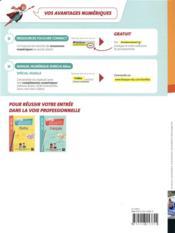 Les nouveaux cahiers ; prévention santé environnement ; 2de bac pro ; manuel de l'élève (édition 2019) - 4ème de couverture - Format classique