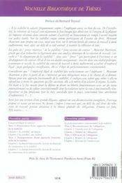 Essai sur la stabilite du contrat de travail a duree indeterminee. volume 48 - 4ème de couverture - Format classique