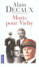 Morts Pour Vichy - Intérieur - Format classique
