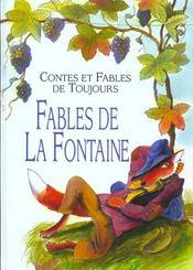 Contes et fables de toujours ; fables de La Fontaine - Intérieur - Format classique