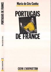 Portugais de France - Couverture - Format classique