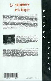 La Chaumiere Des Bugari - 4ème de couverture - Format classique