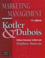 Marketing management - Intérieur - Format classique