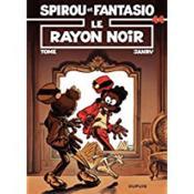 Les aventures de Spirou et Fantasio T.44 ; le rayon noir - Couverture - Format classique