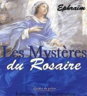 Les mysteres du rosaire - Couverture - Format classique