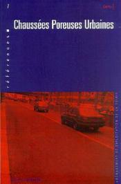 Chaussées poreuses urbaines - Couverture - Format classique