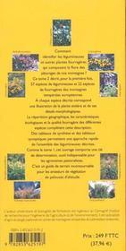 Flore pastorale de montagne. legumineuses et autres plantes fourrageres t2 - 4ème de couverture - Format classique