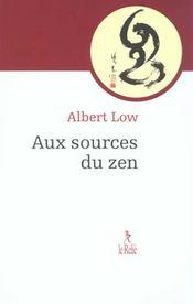 Aux Sources Du Zen - Intérieur - Format classique