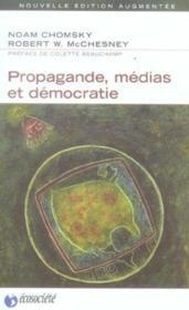 Propagande, médias et démocratie (édition 2005) - Couverture - Format classique