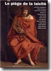 Le piège de la laïcité - Couverture - Format classique