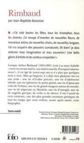 Arthur Rimbaud - Couverture - Format classique