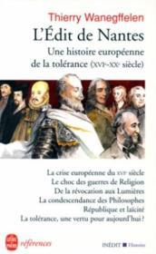 L'Edit De Nantes - Couverture - Format classique